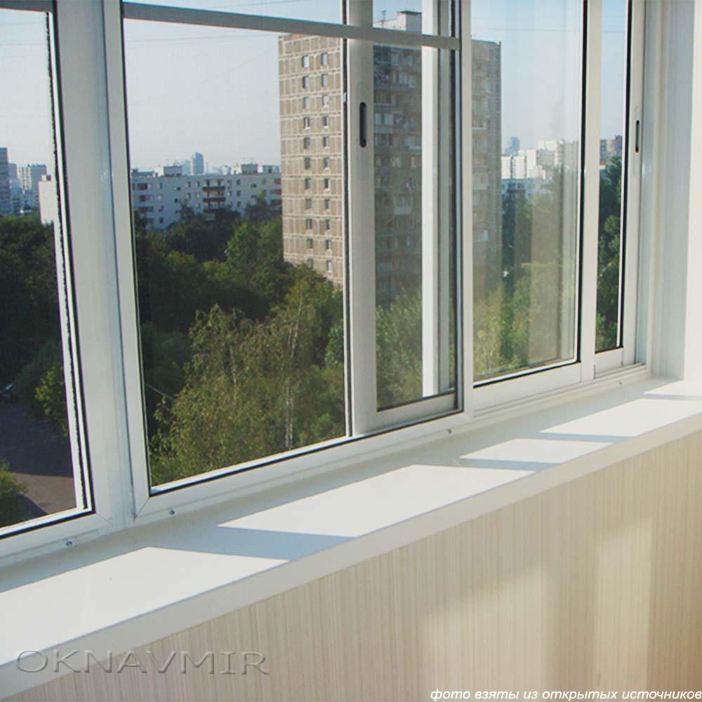Отделка и остекление балкона - витебск (сто дверей).