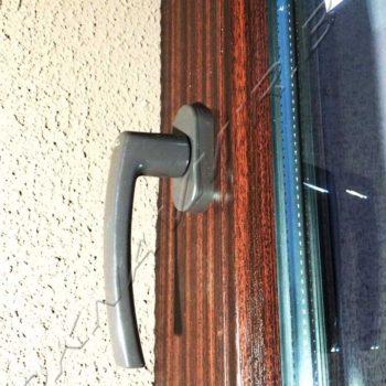 Работы окнавмир. балконная дверь с ламинацией. = окнавмир.бе.