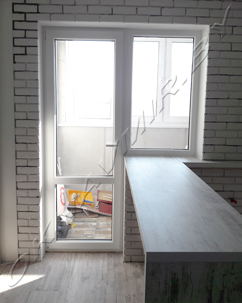 Работы окнавмир. балконный блок. = окнавмир.бел.
